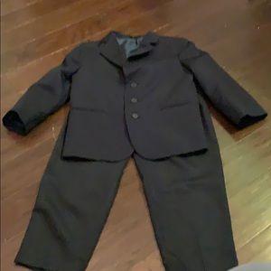Boys navy jacket and pants